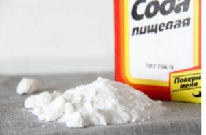 карбонат натрия - сода пищевая